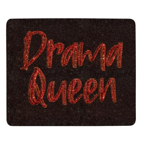 Drama Queen Gesichtsmaske Glitter Rot