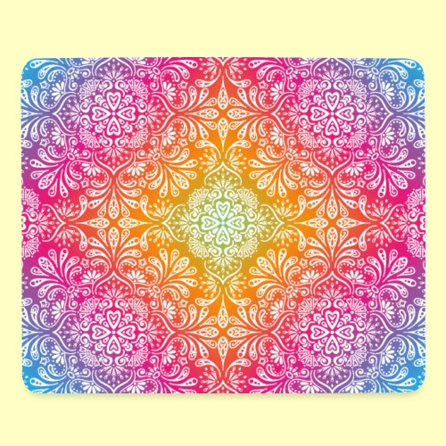 Colorful Mandala - Mousepad (Querformat)