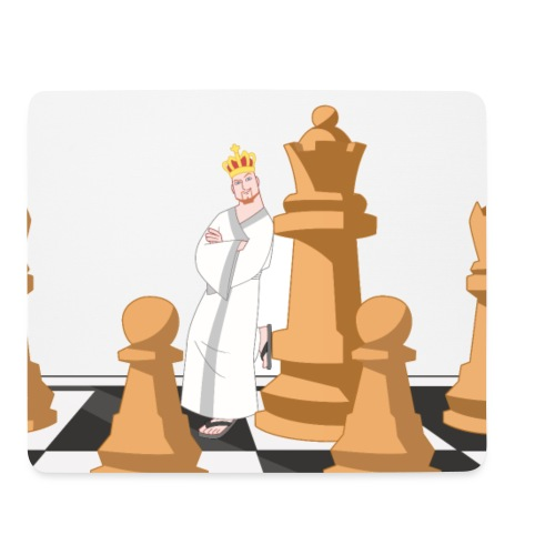 Chessboard - Mouse Pad (horizontal)