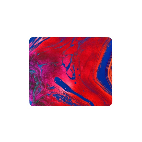 Abstract Art red/blue - Mousepad (Querformat)