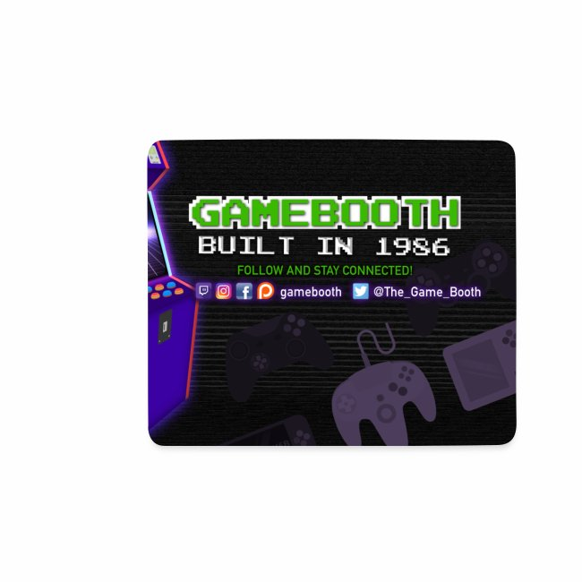 Game Booth Mousepad