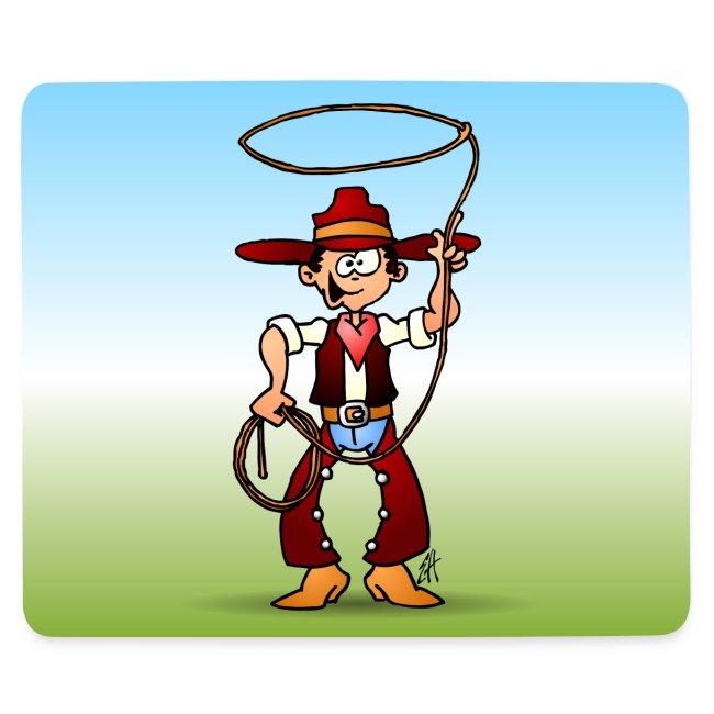 Cowboy with a lasso