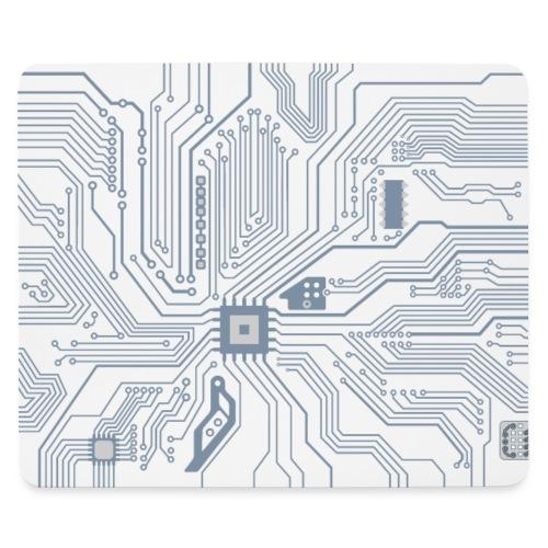 Circuit imprime ordinateur - Tapis de souris (format paysage)