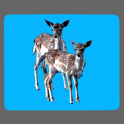 POPIIZERO - THE BAMBIS ICEDBLUE - Mousepad (Querformat)
