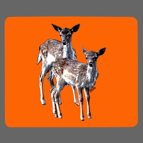 POPIIZERO - THE BAMBIS ORANGE - Mousepad (Querformat)