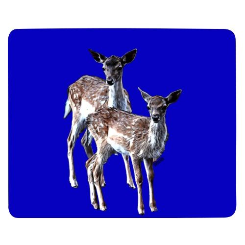 POPIIZERO - THE BAMBIS BLUE - Mousepad (Querformat)