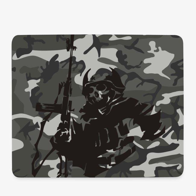camuflaje con soldado