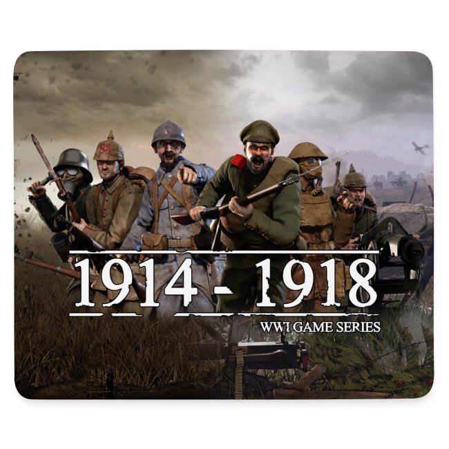WW1 Game Series Mouse Mat