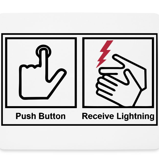 push button receive light