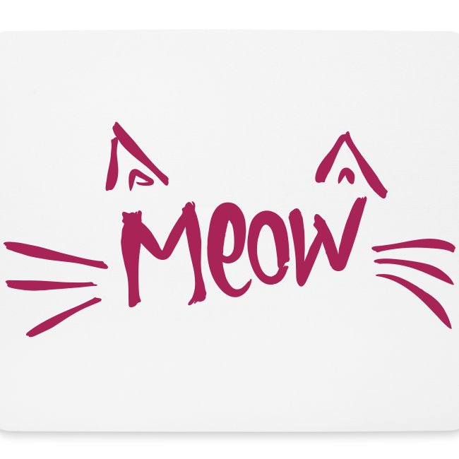 Vorschau: meow2 - Mousepad (Querformat)