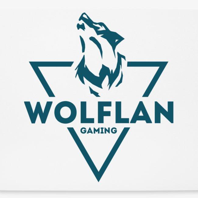 WolfLAN Logo Gray/Blue
