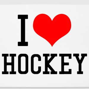 I Love Hockey - Mousepad (Querformat)