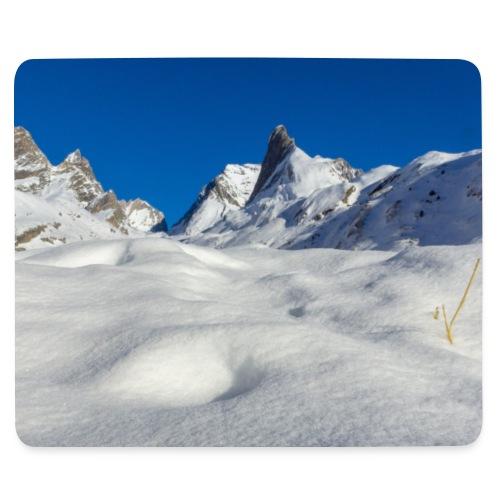 tapis aiguille vanoise - Tapis de souris (format paysage)