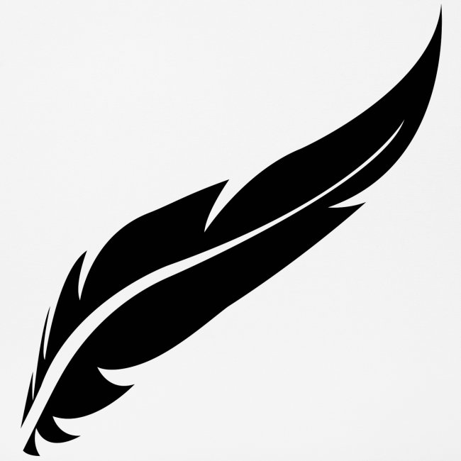 logo plume black
