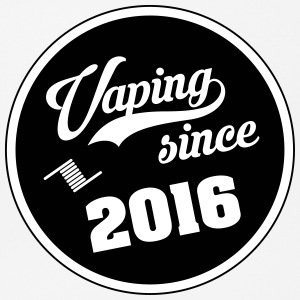 Vaping since 2016 - Mouse Pad (horizontal)