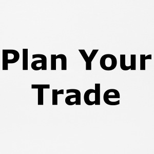 Plan Your Trade - Mousepad (Querformat)