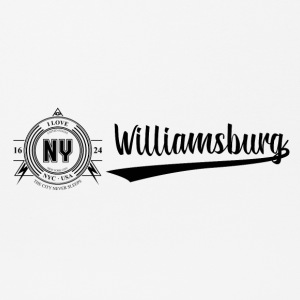 New York City · Williamsburg - Mousepad (Querformat)