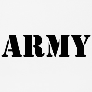 Army black - Mousepad (Querformat)