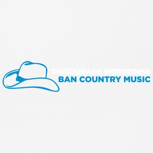 Ban Country Musik! - Mousepad (Querformat)