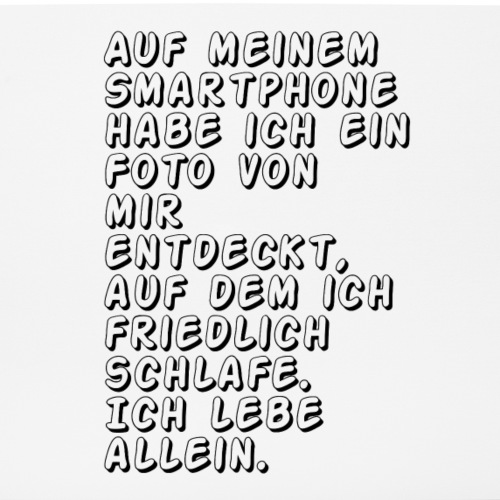 Gruseliger Spruch - Mousepad (Querformat)