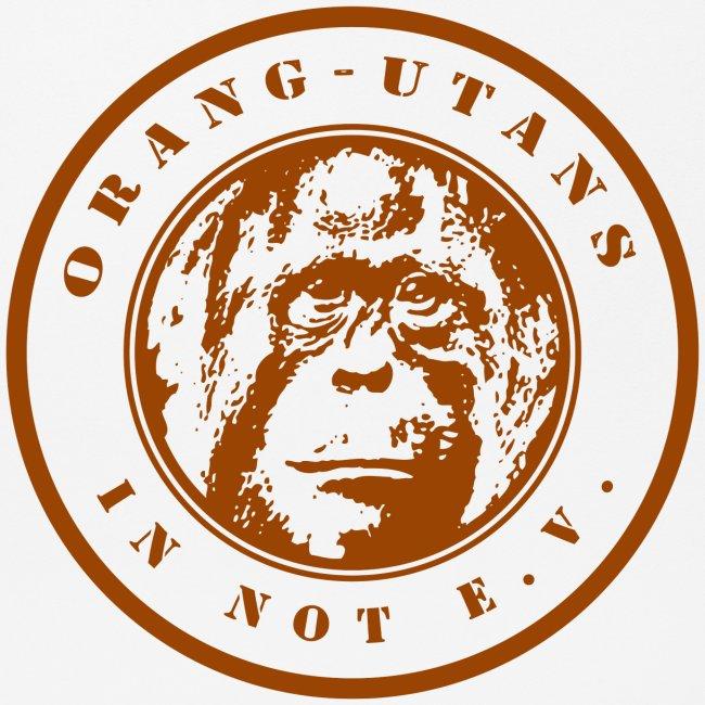 Logo Orang-Utans in Not e.V. braun