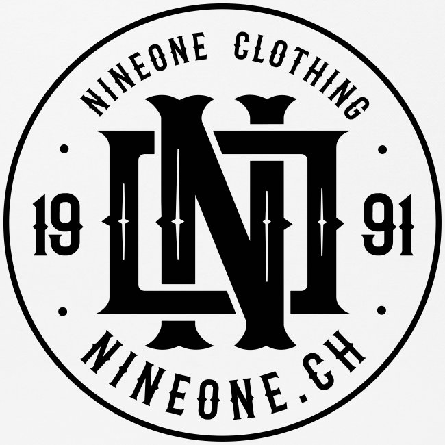 Nineone Monogram NO 03 black