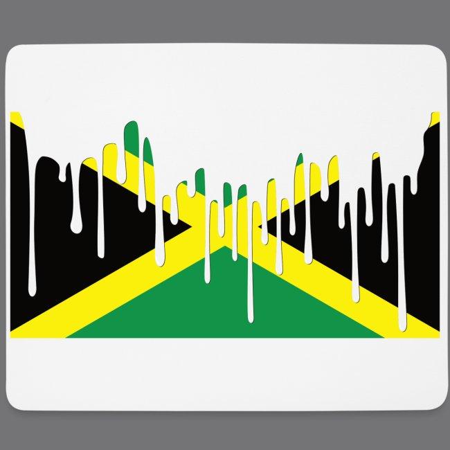 JAMAICAN FLAG Tee Shirts | Mouse Pad (horizontal)
