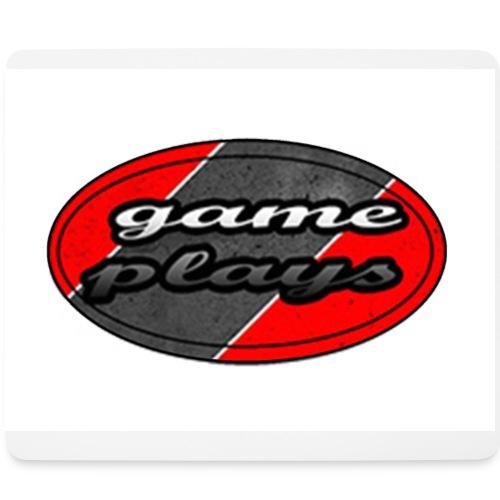 muismat game plays logo - Mouse Pad (horizontal)