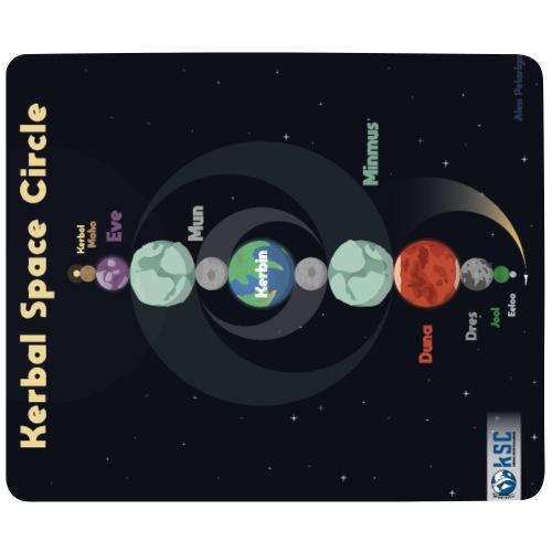 Tapis de Souris Kerbal Space Circle