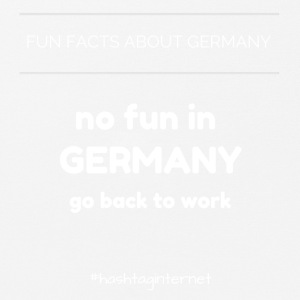 fun facts about Germany no fun in Germany go back - Mousepad (Querformat)