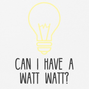 Elektriker: Can i have a Watt Watt? - Mousepad (Querformat)