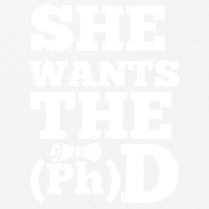 Doktor / Arzt: She Wants The D - Mousepad (Querformat)