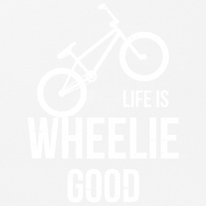 Life Is Wheelie Good - Mouse Pad (horizontal)