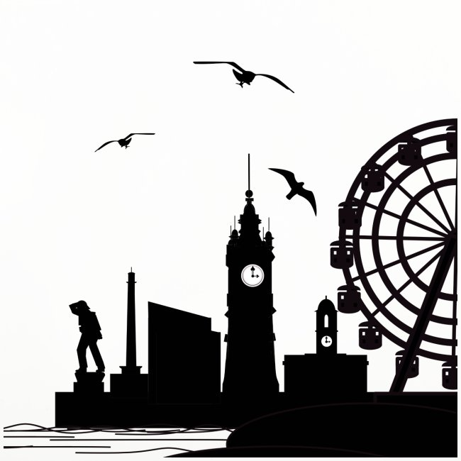 Silhouette of Margate