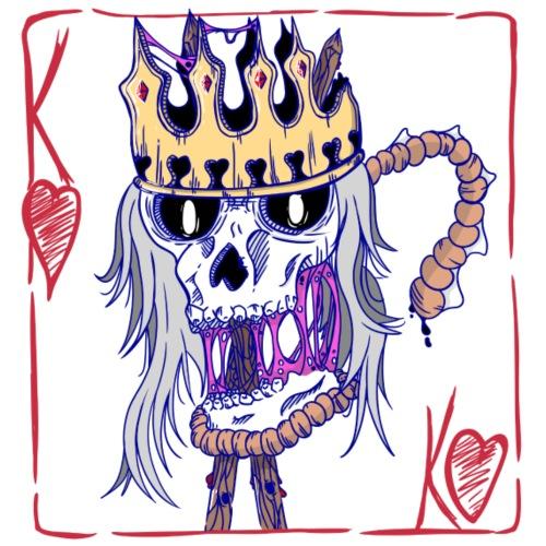 King of the people - Glasbrikker (sæt med 4 stk.)