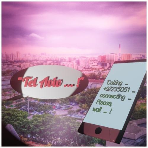 Tal Aviv is calling - traumhafter Sehnsuchtsort - Untersetzer (4er-Set)