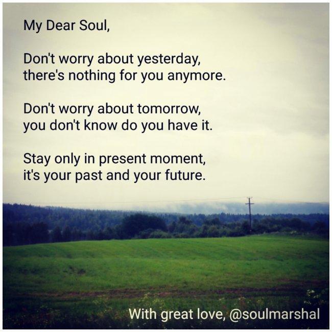 My Dear Soul