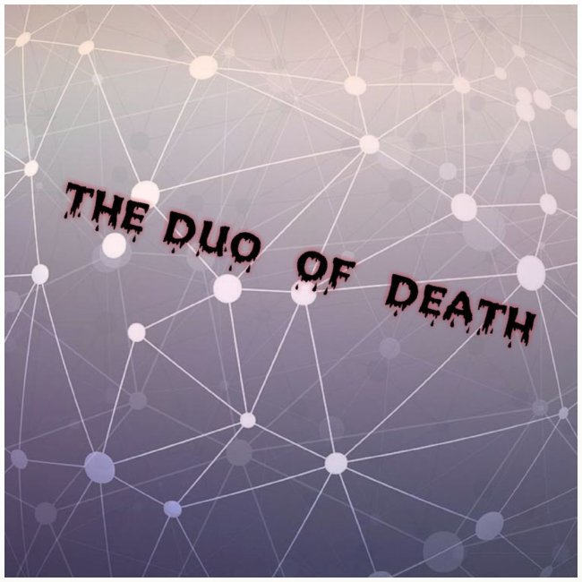 The duo of death logo