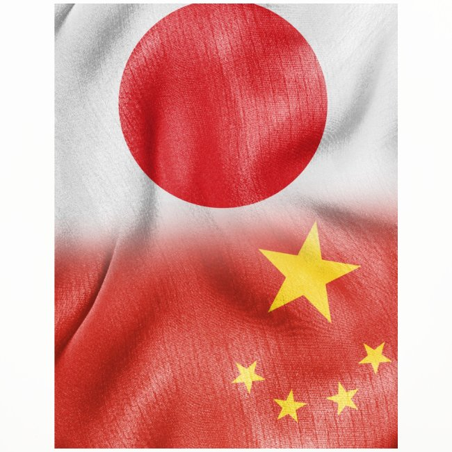 japan china flag
