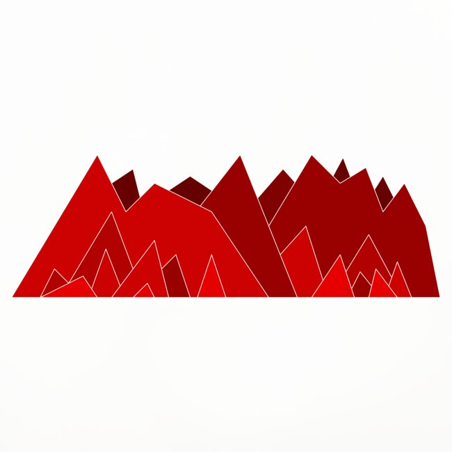 Simplistic Mountains