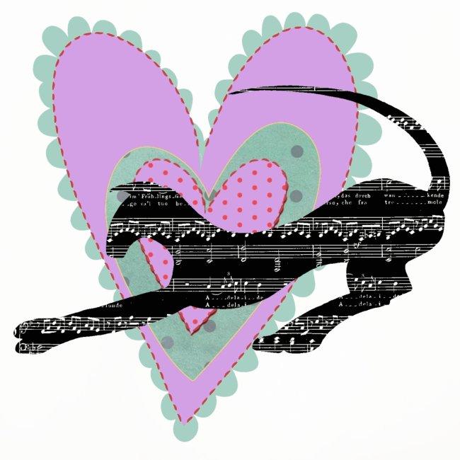 Musik hjärta