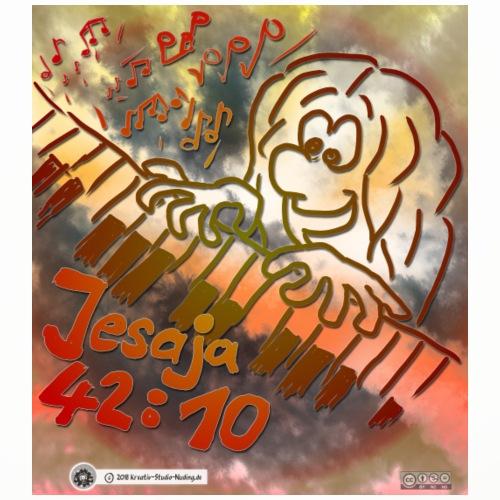 Design Klavier Jesaja 42:10 - Untersetzer (4er-Set)