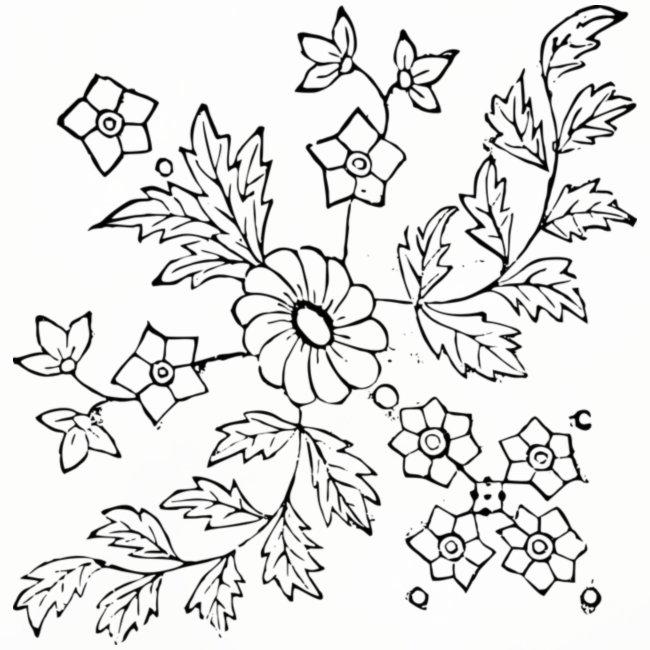 Anjas Shop Blumen Zum Ausmalen Untersetzer 4er Set
