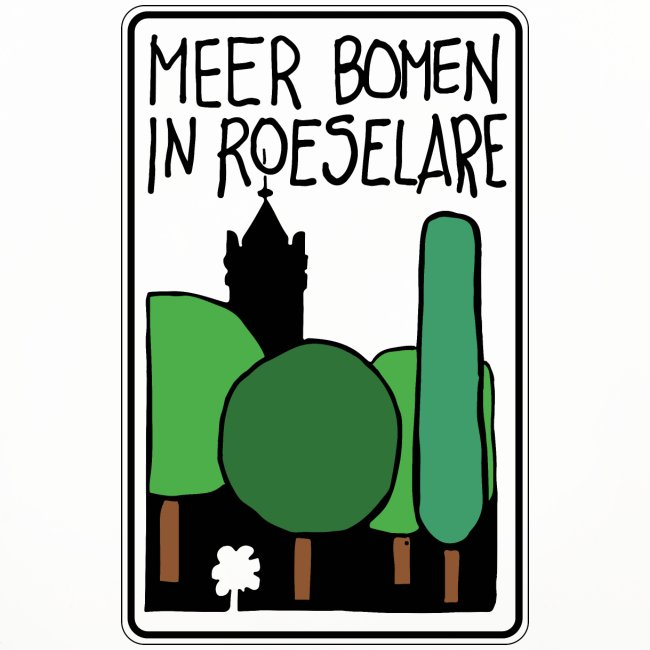 Meerbomen in Roeselare