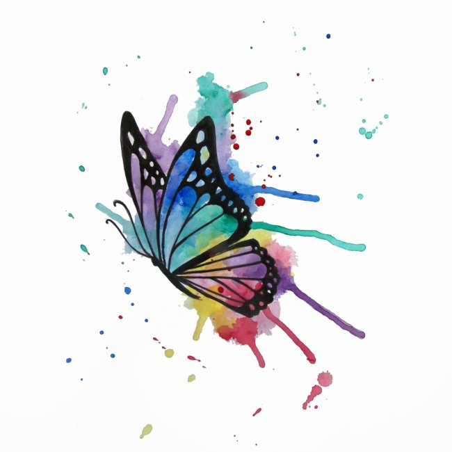 butterfly watercolors Nadia Luongo