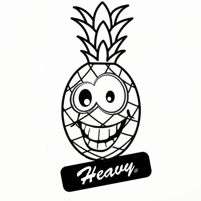 Design Ananas Heavy