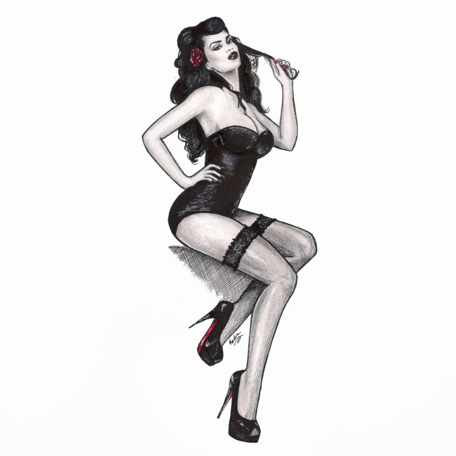 Pin Up Nadia Luongo