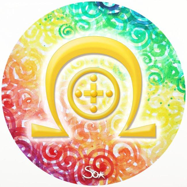 Regenbogen-Dimensionssymbol Heilung - Sonja Ariel