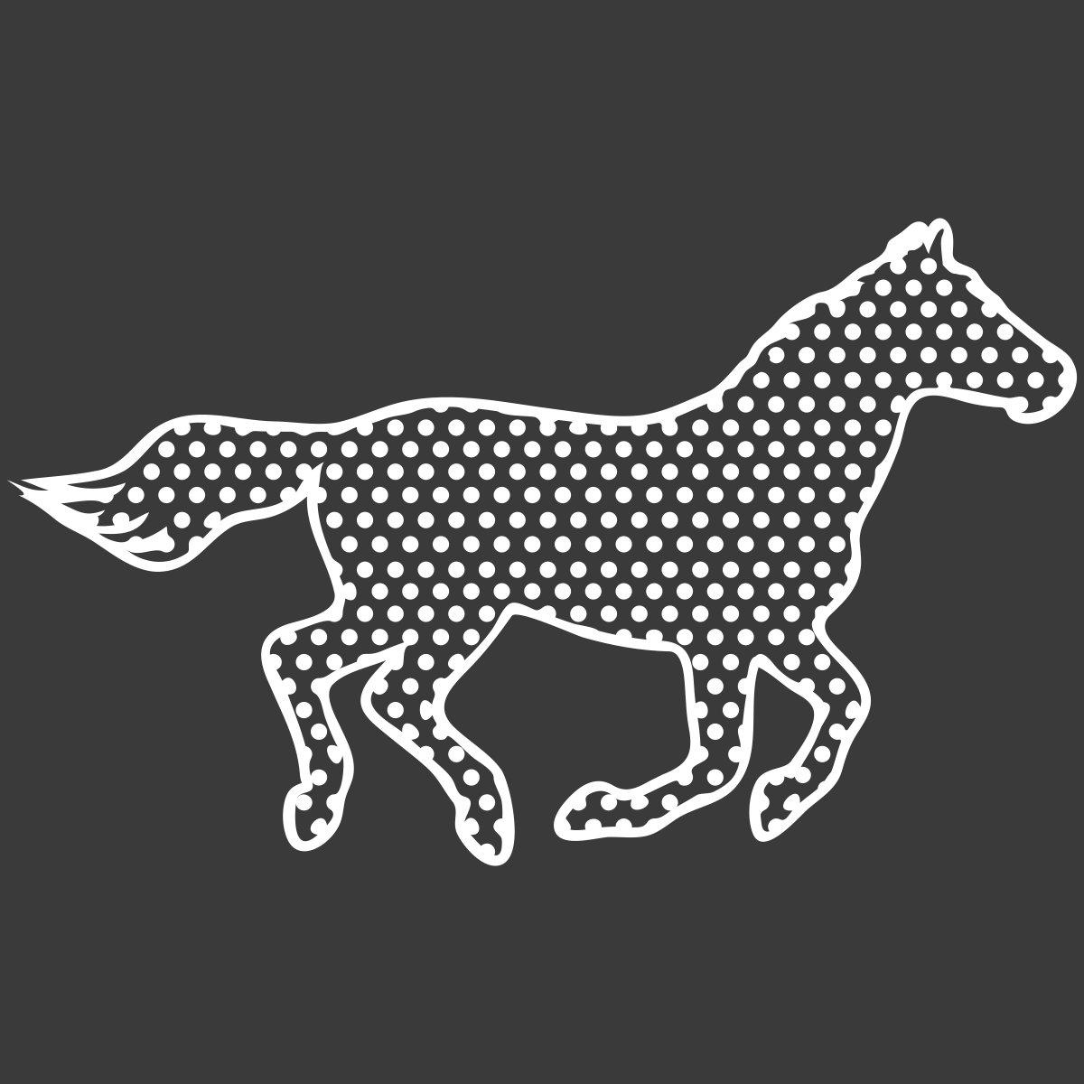 Gepunktetes Pferd