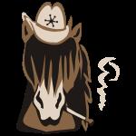 Cowboypferd